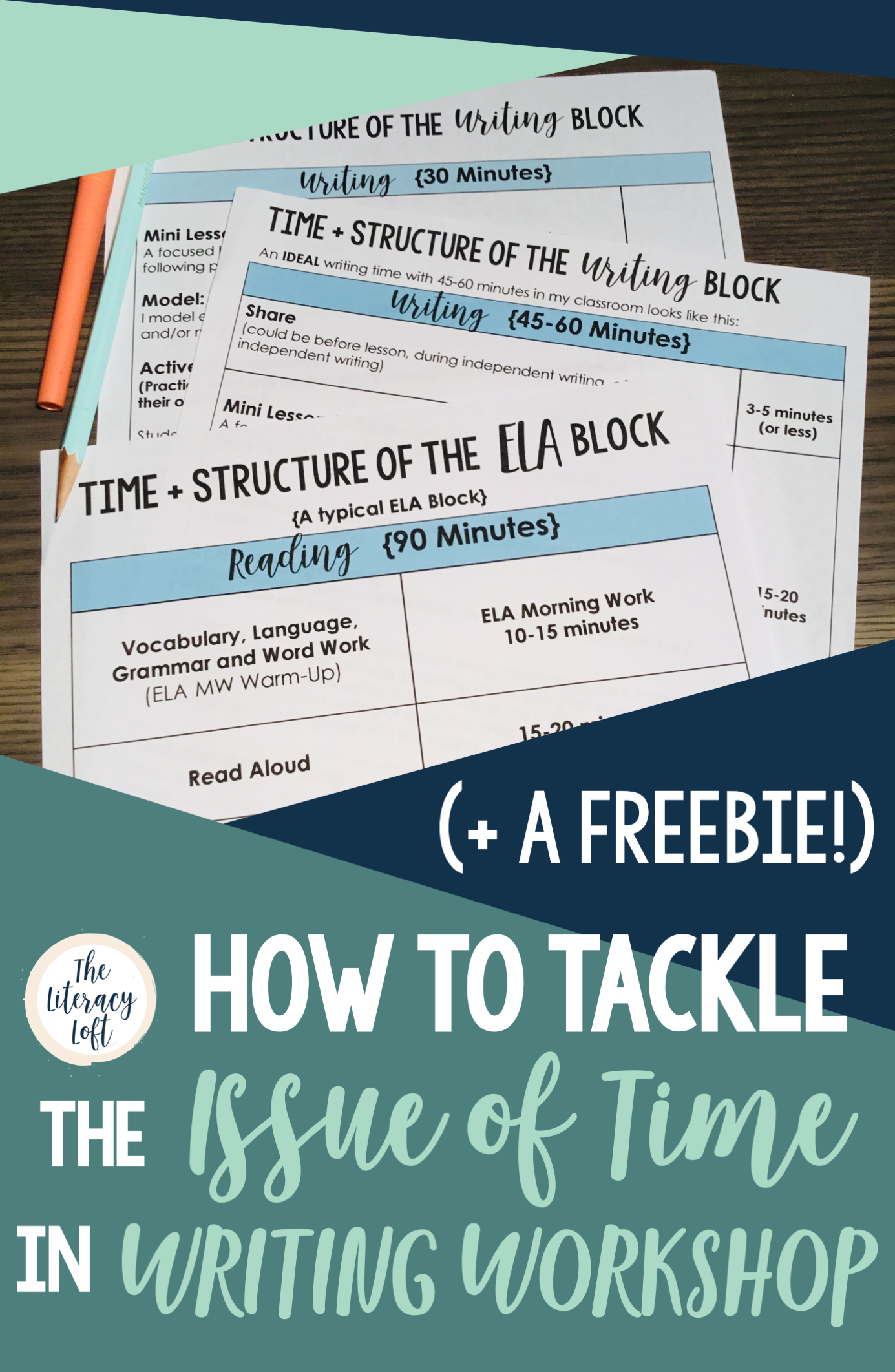 How to Tackle the Issue of Time in Writing Workshop