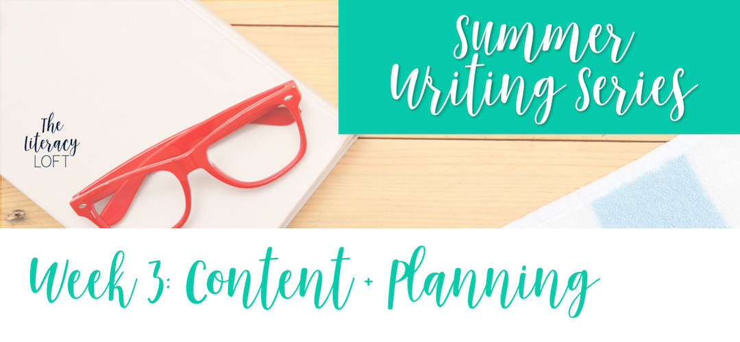 How to Plan Your Writing Workshop